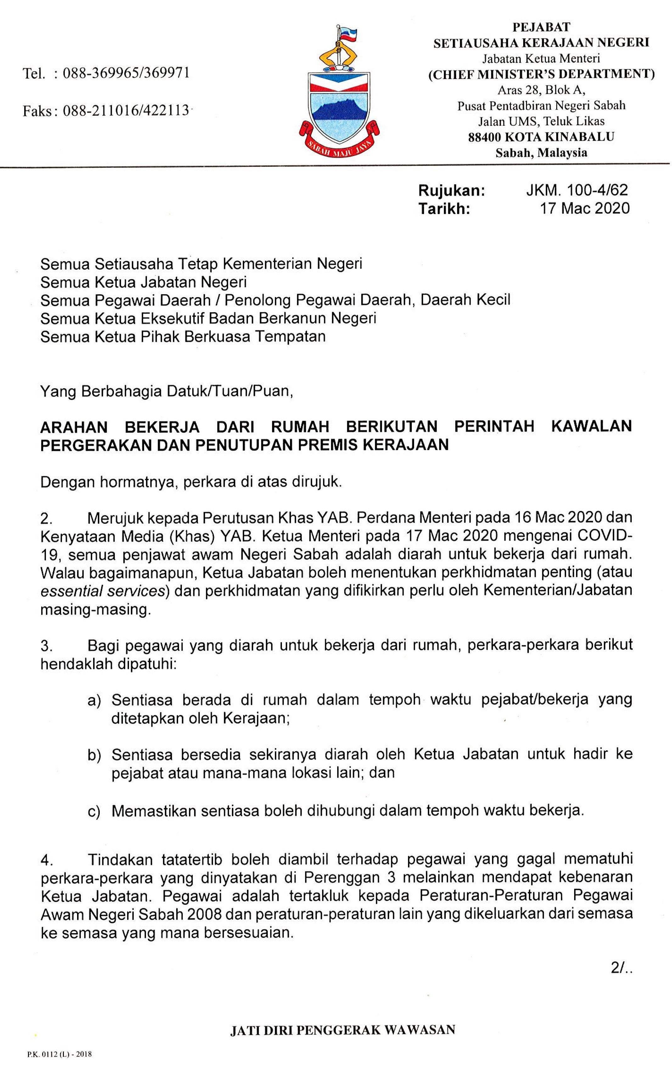 Portal Rasmi Jabatan Tanah Dan Ukur Sabah Home
